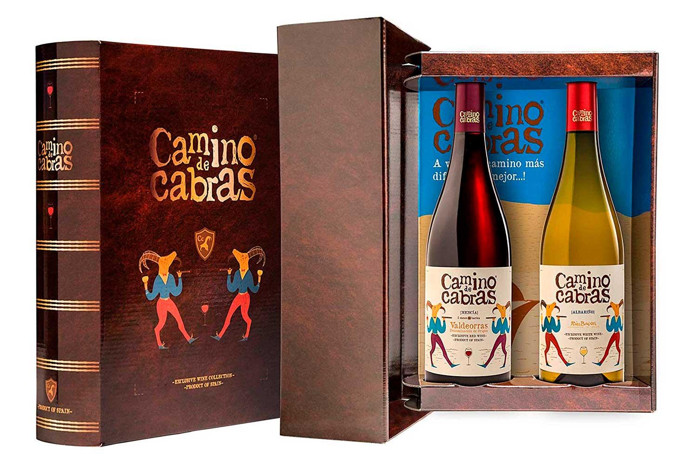 CAMINO DE CABRAS Vino tinto Crianza - Mencía + Vino blanco - Albariño Rias Baixas
