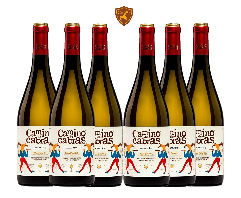 CAMINO DE CABRAS 6 botellas - vino blanco - Albariño Rias Baixas