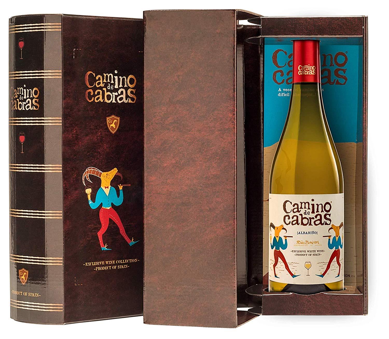 CAMINO DE CABRAS Estuche regalo - vino blanco - Albariño Rias Baixas