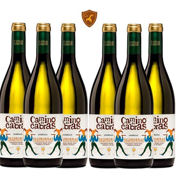 CAMINO DE CABRAS 6 botellas - vino blanco - Godello