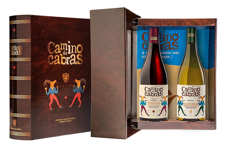 CAMINO DE CABRAS Vino blanco Godello + Vino tinto Crianza - Mencía