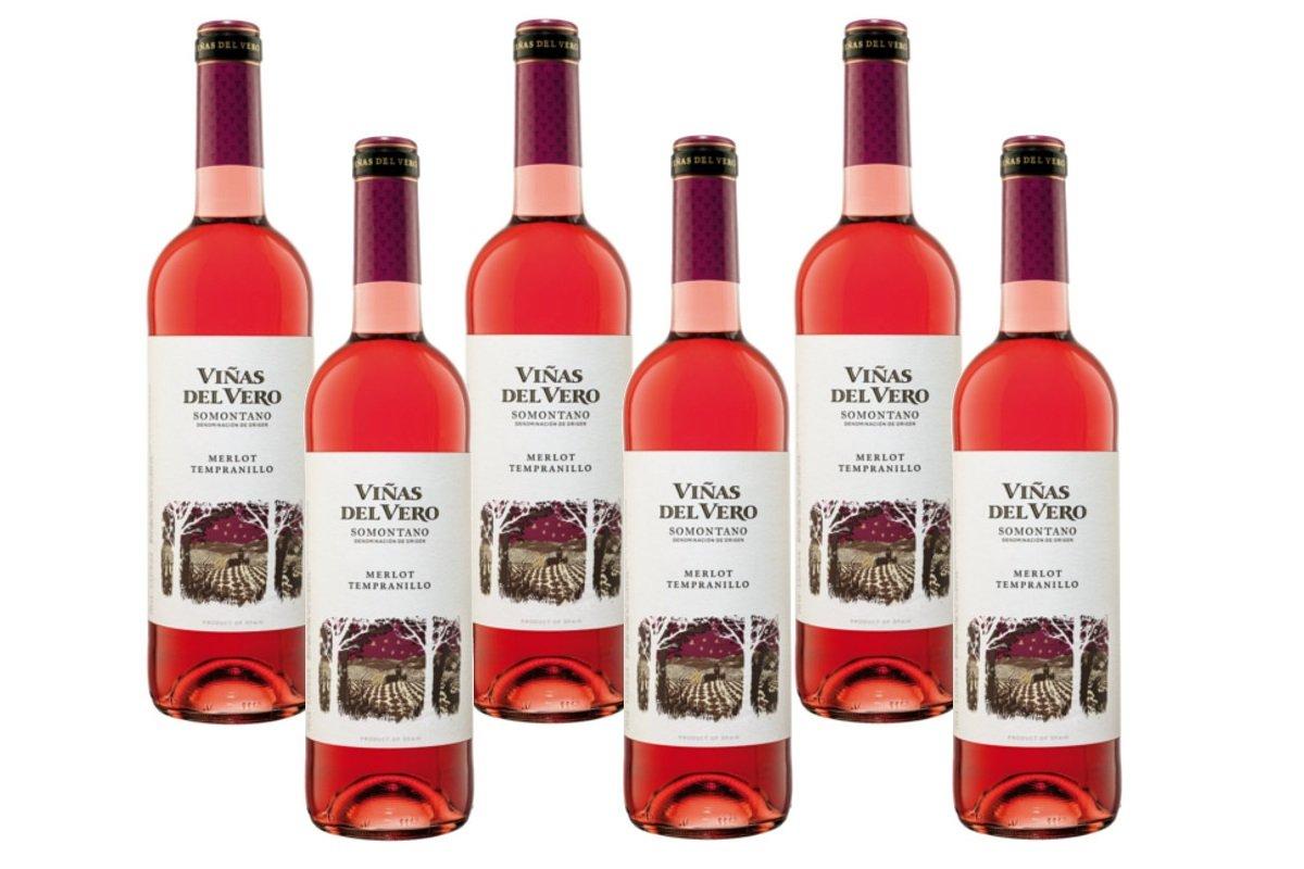 Viñas Del VeroMerlot Tempranillo Rosado