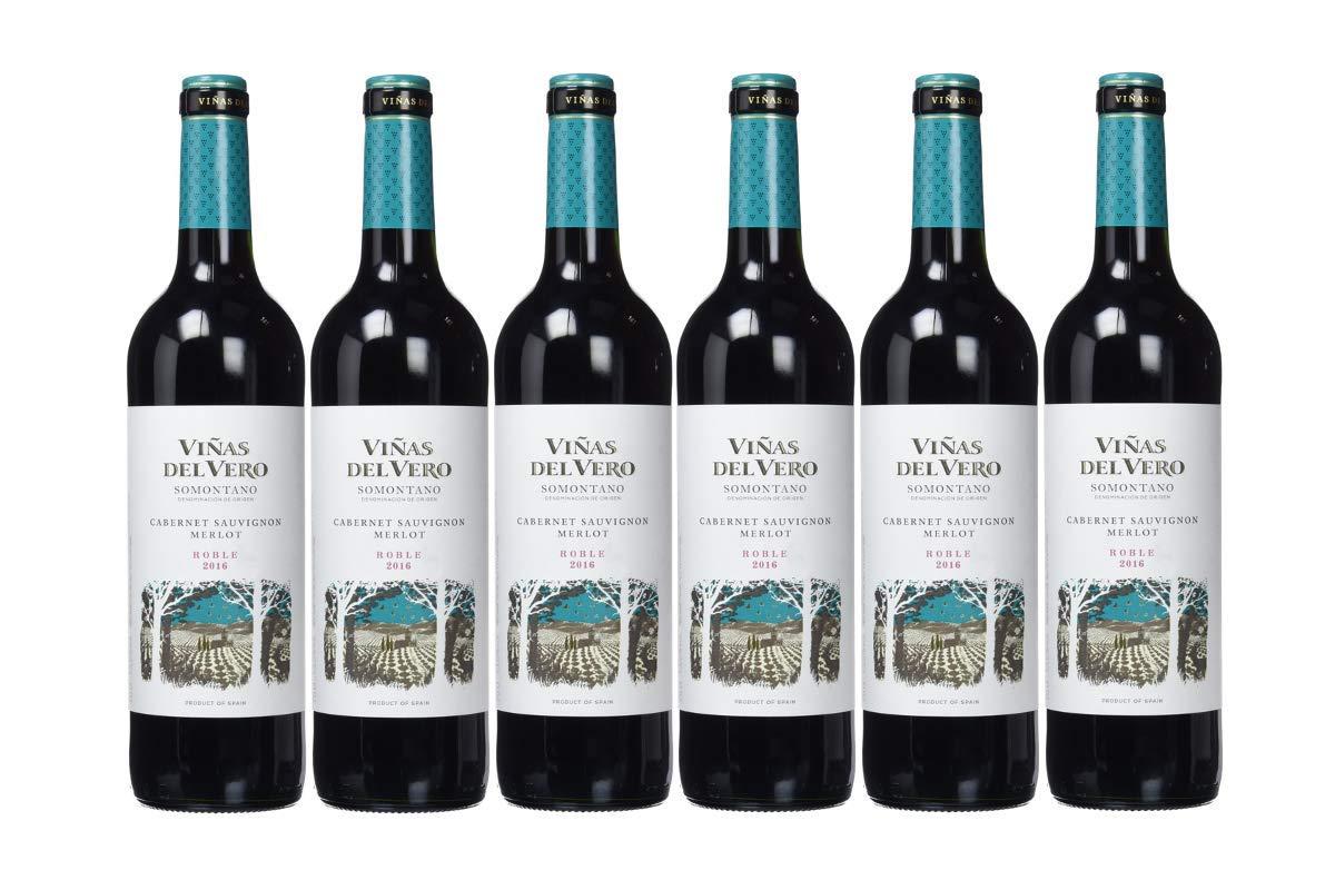 Viñas Del VeroTinto Cabernet-MerlotROBLE